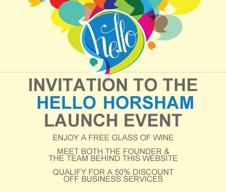 Hello Horsham Launch Event