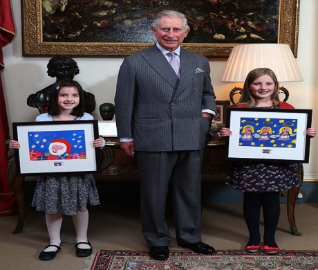 Horsham Girl Designs 1st Class Christmas Stamp