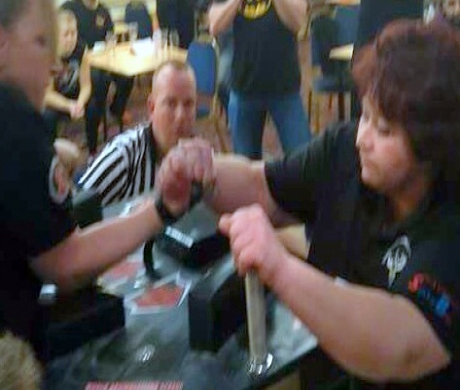 Mannings Heath Arm Wrestler Heads for World Finals